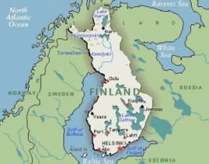 Географическое положение финляндии